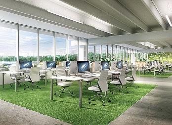 Main Building Workspaces